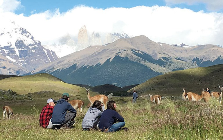 Animal scientists studying abroad