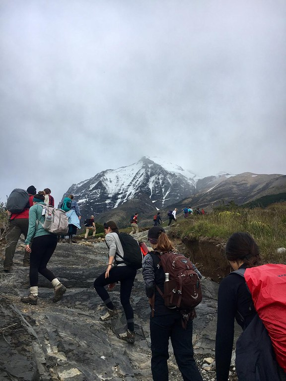 BioRenewable Systems grads hiking in Patagonia.