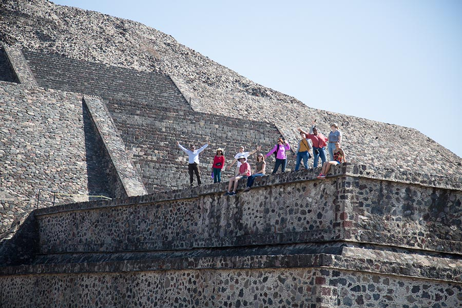 Landscaping internships and study abroad programs take students to exciting places.