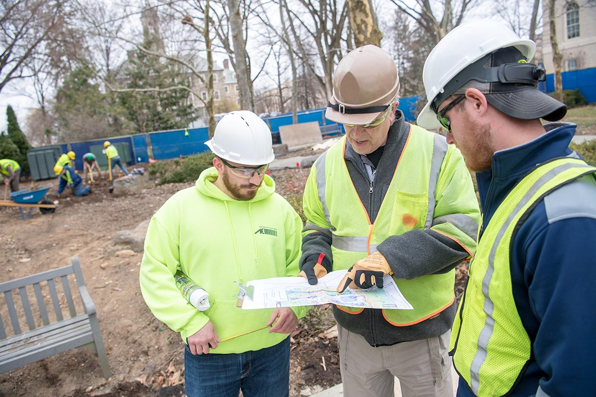 Landscape Contracting majors study the art and technology of the landscape industry.