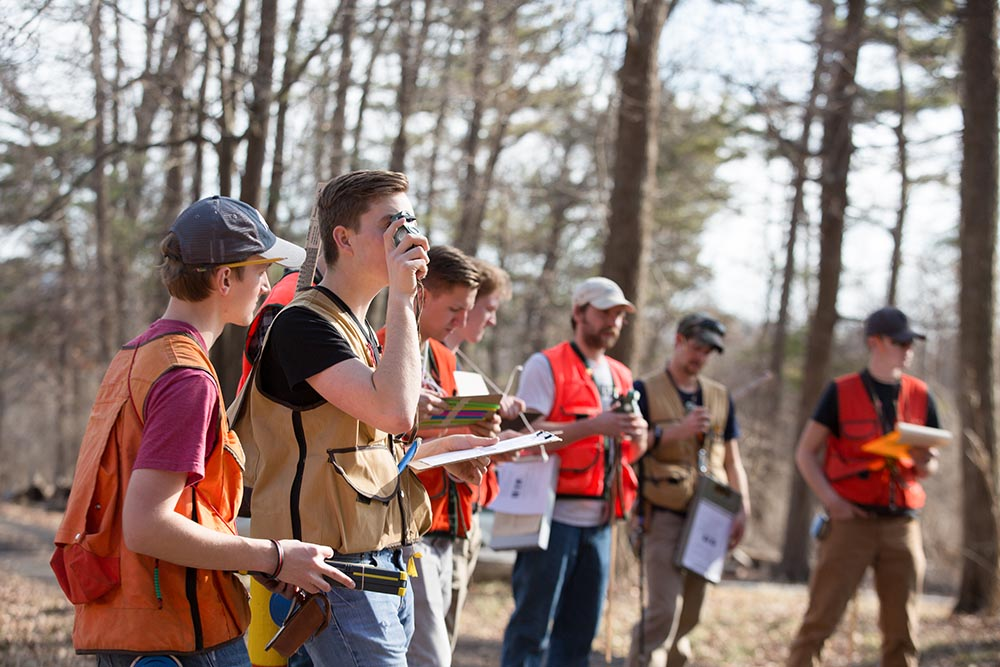 Forest inventory training