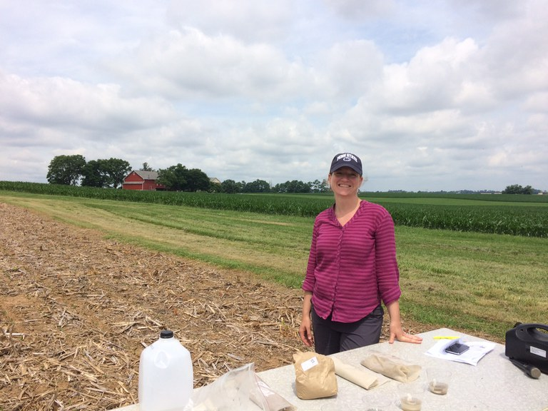 Sustainable Ag Extension Educator, Kristy Borrelli