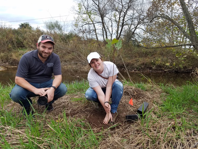 Tree planting in the Lower Susquehanna