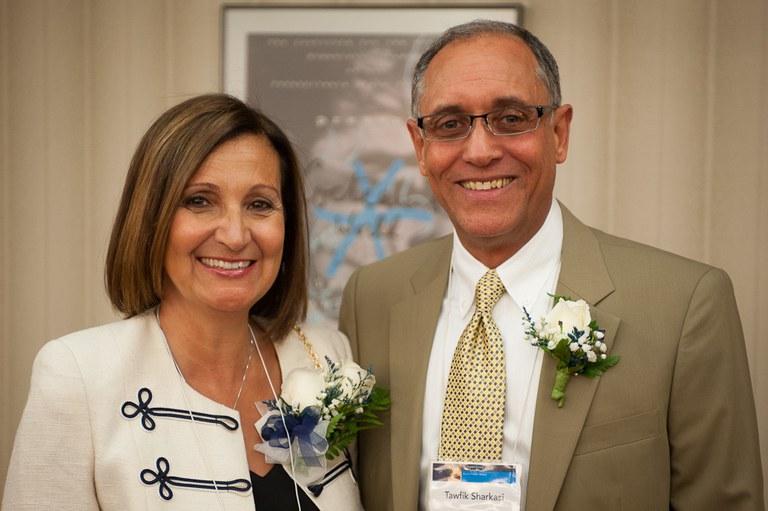 Magda Fehema-Sharkasi and Tawfik Y. Sharkasi
