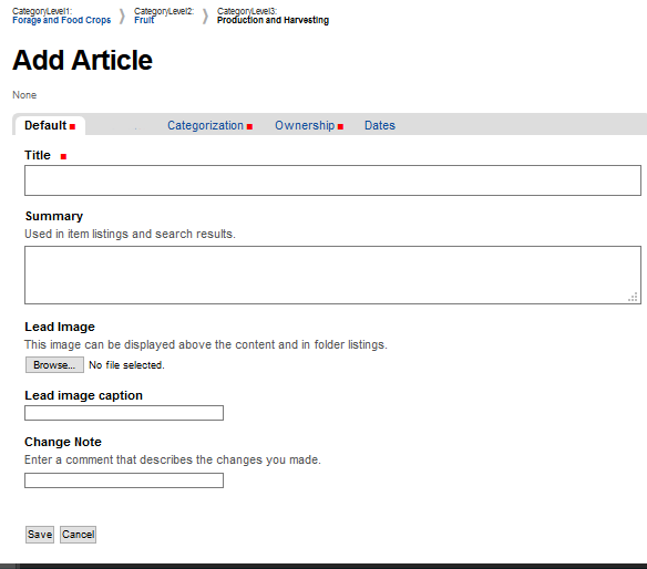 Add Article
