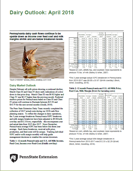 dairy outlook pdf