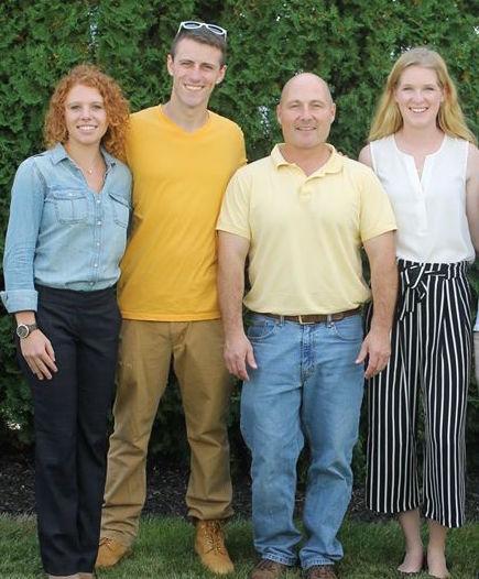 The Make It Happen team (L to R): Monica Caldwell, Mike DeVito, Dr. Mark Gagnon, Sarah Giegerich.