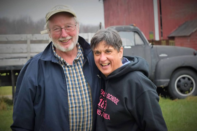 Dr. Barb Christ and her husband Dr. Elwin Stewart, plant pathologists who retired from the college, built the Happy Valley Vineyard & Winery in State College from scratch as a second career.
