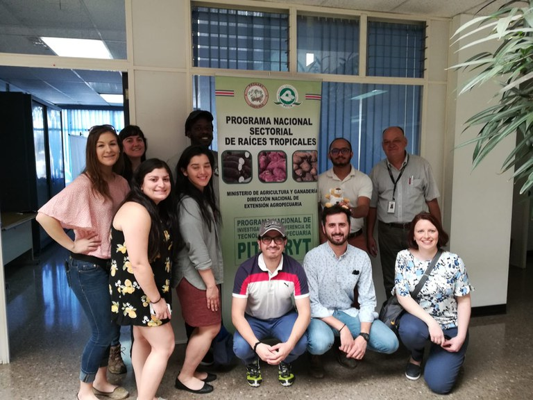 INTAD students visit the Costa Rica Ministry of Agriculture and Livestock