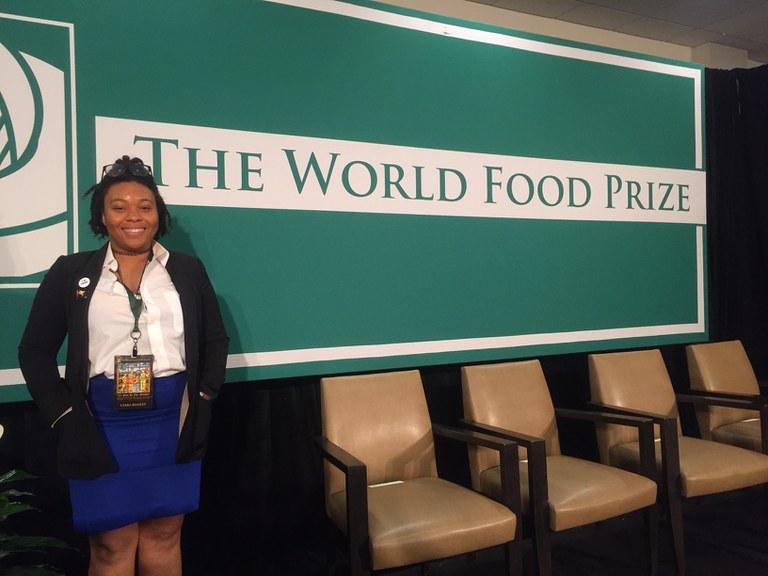 Ciara Beasley is minoring in International Agriculture (INTAG)