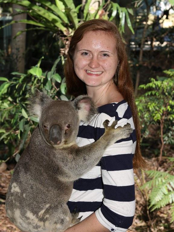 Day spent at Lone Pine Koala Sanctuary where I got to hold Rodney the koala bear