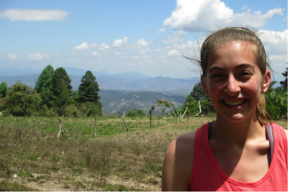 Visiting the coffee farm on top of the mountain.  Honduras never failed to provide gorgeous views!