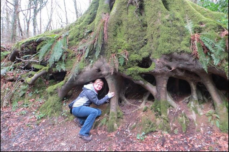 Erin in Dun na Ri Forest Park