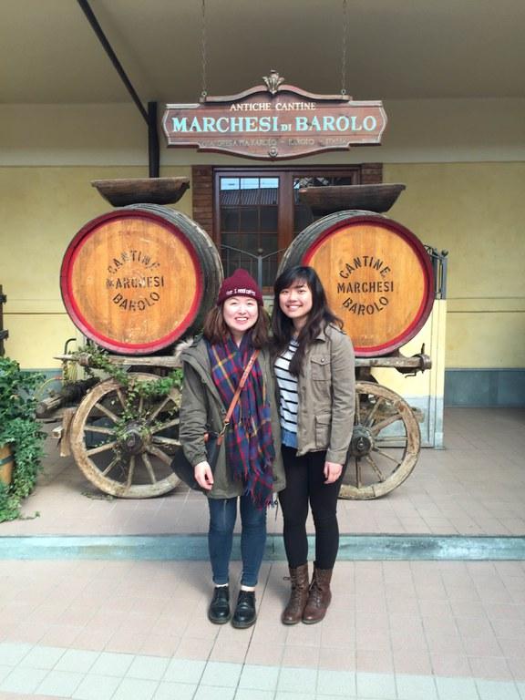 At Barolo Winery