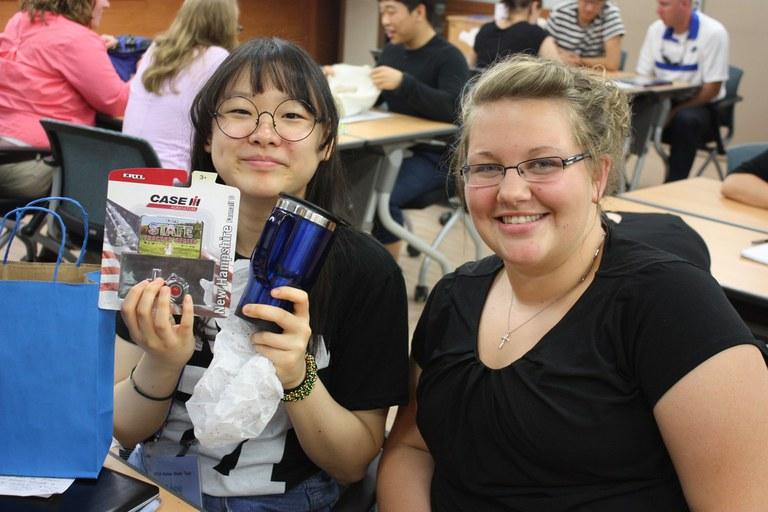 Janae and her Korean teaching partner