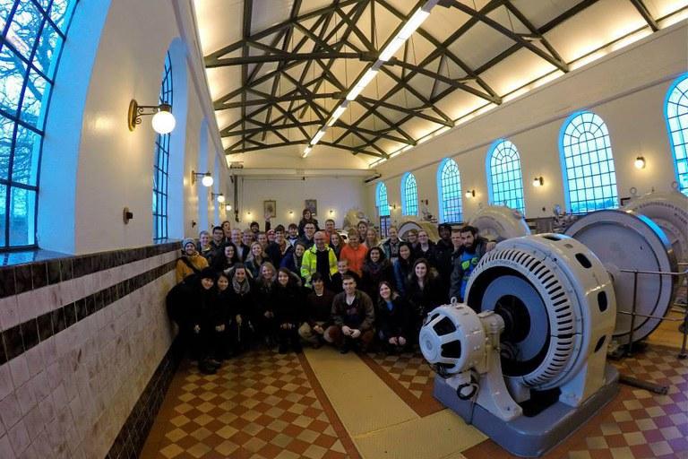 First Hydro Plant in Reykjavik