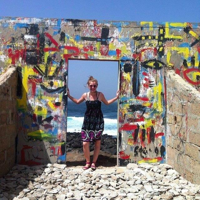 Arianna De Reus at Ngore Island