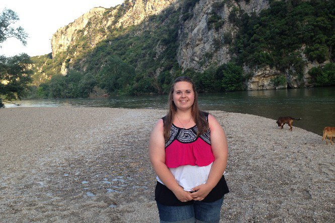 Me standing along the Nestos River Delta, which flows through Bulgaria and Greece, then meets the Aegean Sea