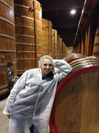 Aceta Balsamic Vinegar. Thousands of gallons of Balsamic Vinegar stored in various sized casks.
