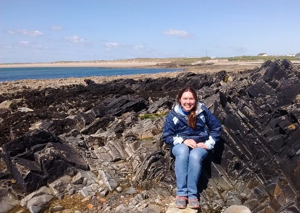 There are a mix of sandy beaches and rocky outcrops on the shore of Kilmore Quey.