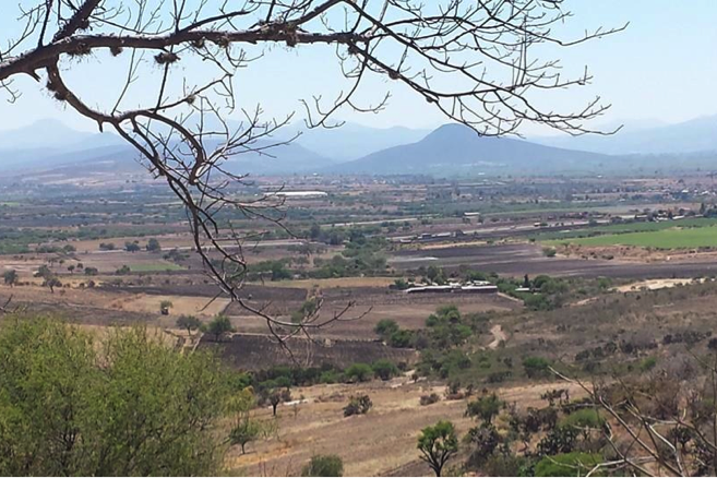 A view of of the bajio from a distance
