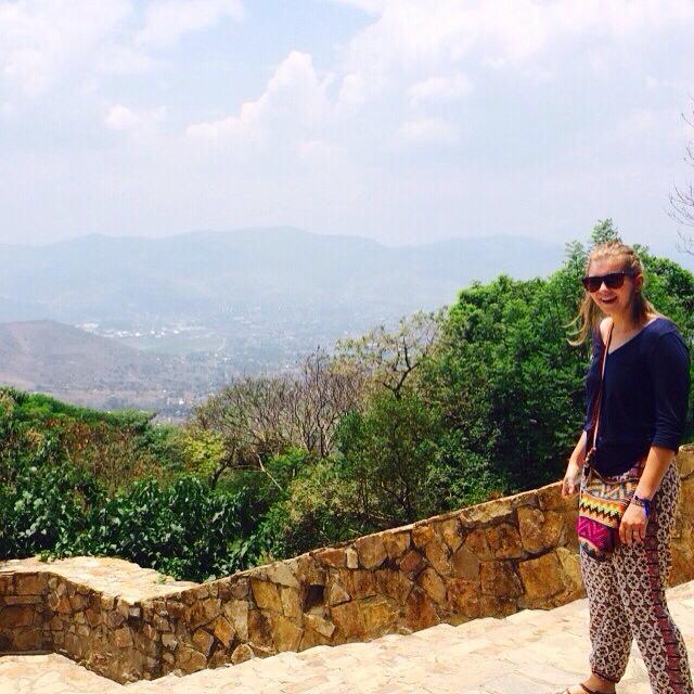 Monte Albán, Prehistoric city and view of Oaxaca
