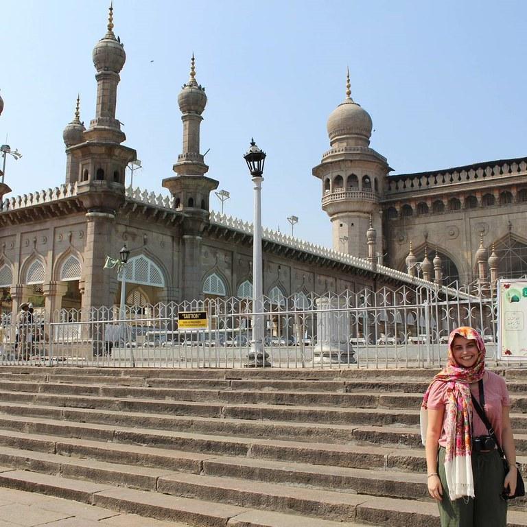 Jessica in India