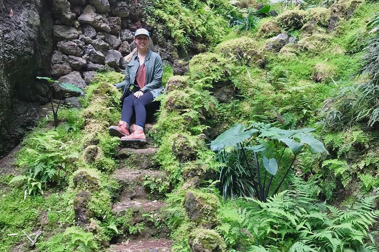 Garden on São Miguel Island