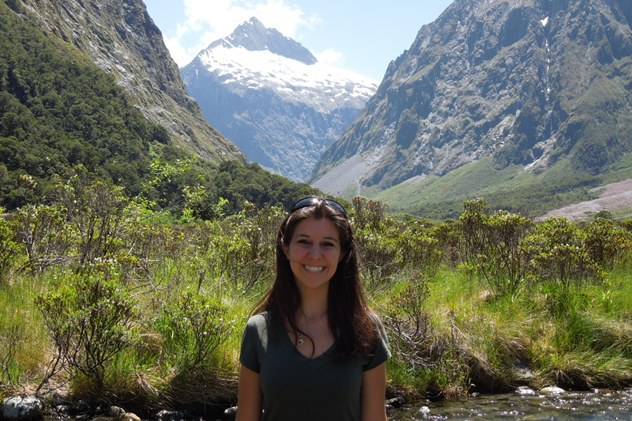 Enjoying the New Zealand countryside
