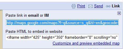 URL-google-map