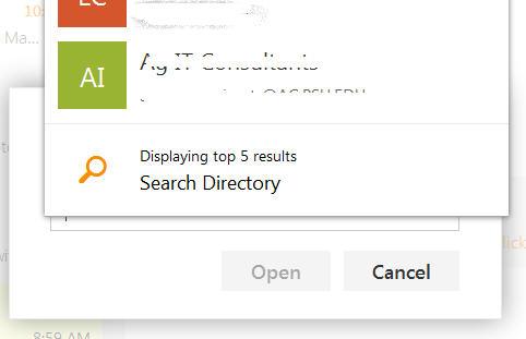 how to open outlook via task bar