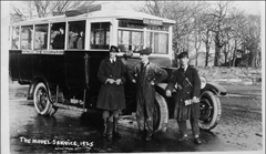 photo: Busy Bee Bus Service, 1925, source Flikr