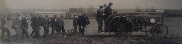 Found in the Agronomy Farm, this photo was taken on early Pennsylvania Agricultural College fields sometime between 1908 and 1928.
