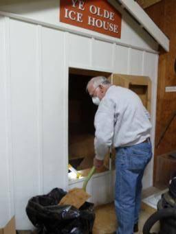 Replacing 'Ye Olde Sawdust' in 'Ye Olde Ice House'