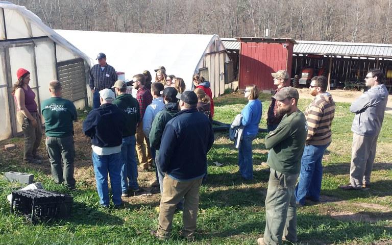 Morning Farm discussion2