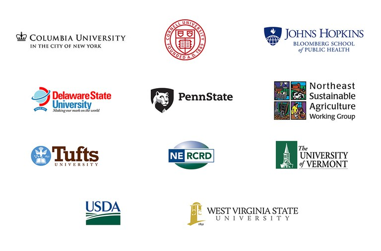 From 2011-2018, the EFSNE team engaged professionals from multiple universities, non-profits and government agencies.