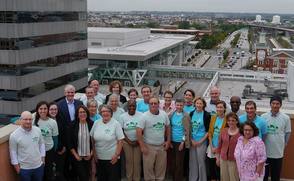 EFSNE project team, pictured at the 2015 team meeting in Baltimore, MD.