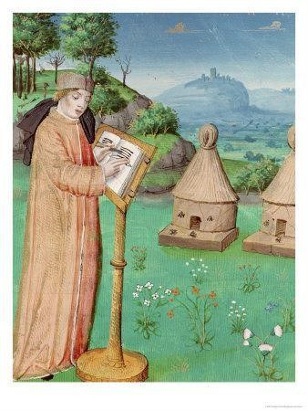 image of virgil writing a poem