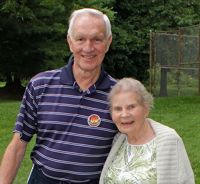 Dr. Glenn Carter and Mrs. Doris Longwill Carter